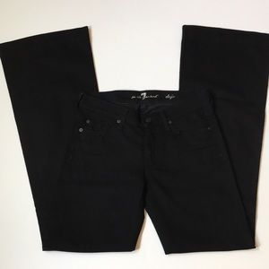 NWOT 7 for all Mankind DOJO Black Jeans  27